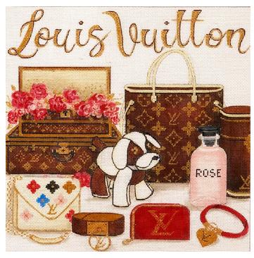 Louis Vuitton Collage
