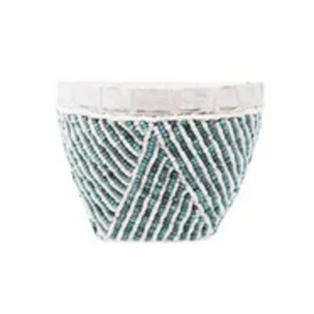 Bamboo Beaded Trinket Basket - Ort Bowl