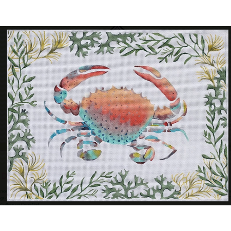Lady Crab W/Mixed Seaweed