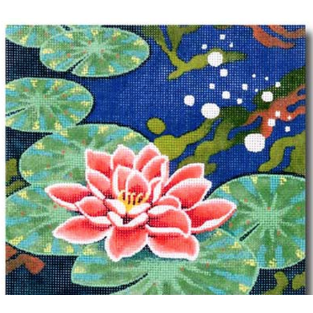 Squares: Water Lily