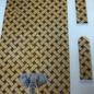 Elephant on Woven Background Purse