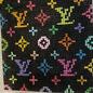 "Louis Vuitton 3"" Square Insert on Black"