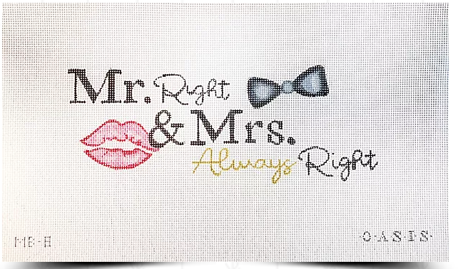 Mr. Right and Mrs. Always Right