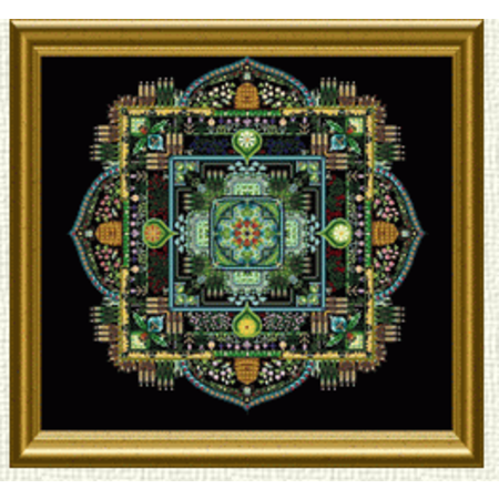 Summer Garden Mandala