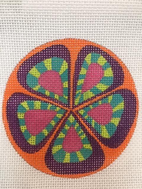 Set Orange Flower
