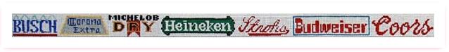 Beer Logos Belt