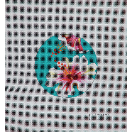 Tropical White Flowers