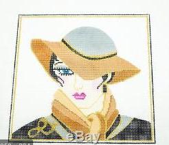 Lady Grey/Tan Hat
