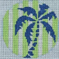 Palm Tree on Lime Insert