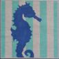 Seahorse Stencil Insert