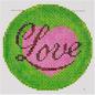 """Love 3"""" Round"""
