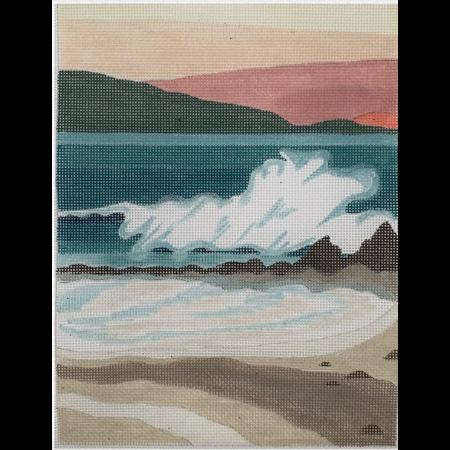 Seaside Graphic Landscape