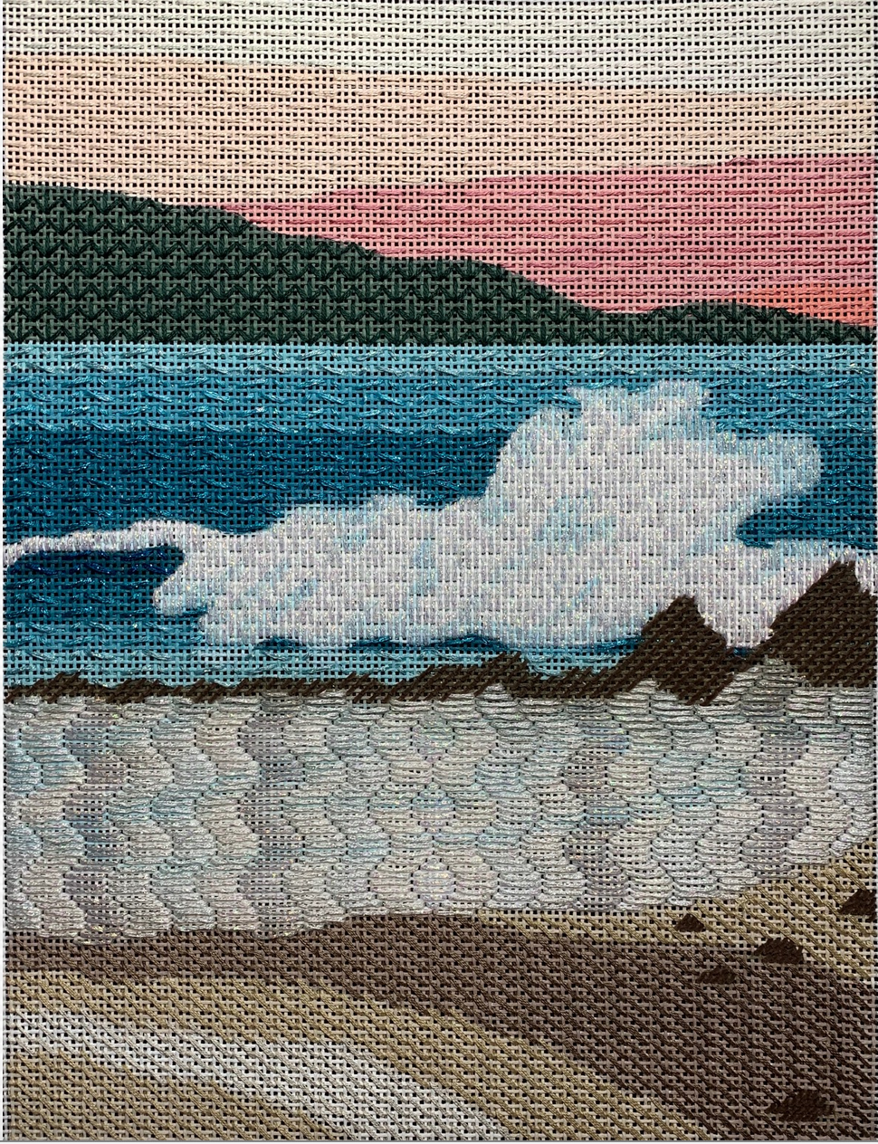 Seaside Graphic Landscape