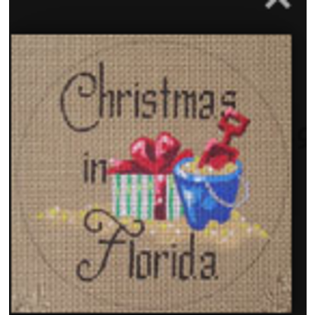 Christmas in Florida Sand