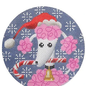 Pink Poodle Christmas