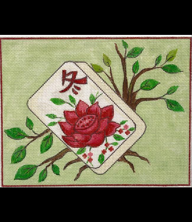 Floral Mah Jongg