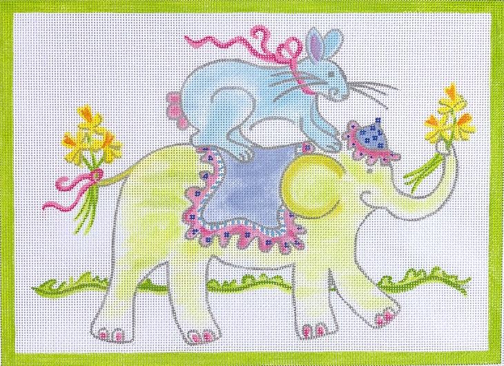 Bunny Riding Elephant