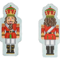 Double-Sided Nutcracker Ornament Red