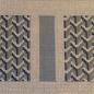 Y Pattern in Blue