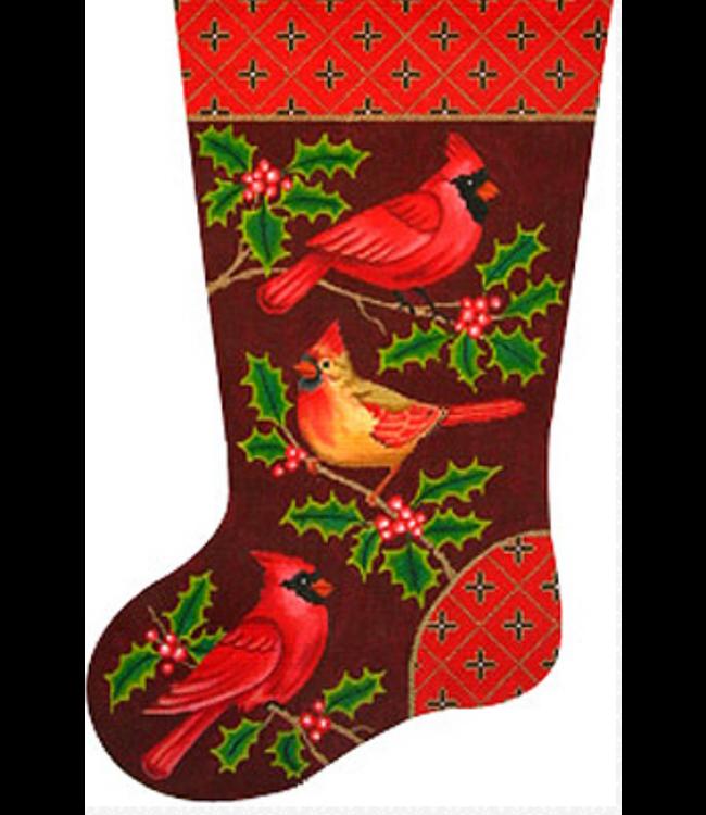 Cardinal Stocking