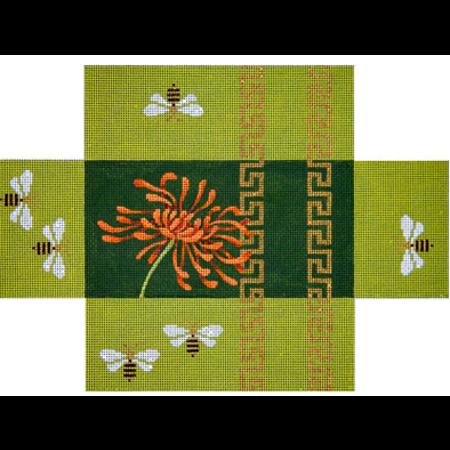 Oriental Mum & Bees