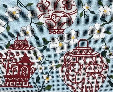 Chinese Lantern on Blue
