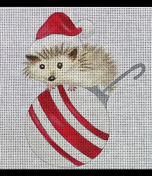 Hedgehog on Ornament
