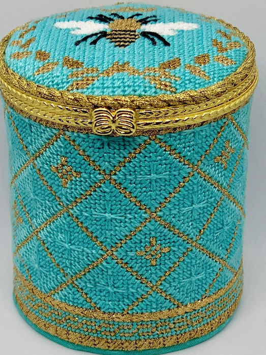Bee Box Teal round