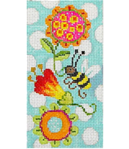 Whimsy Bee-Eyeglass Case