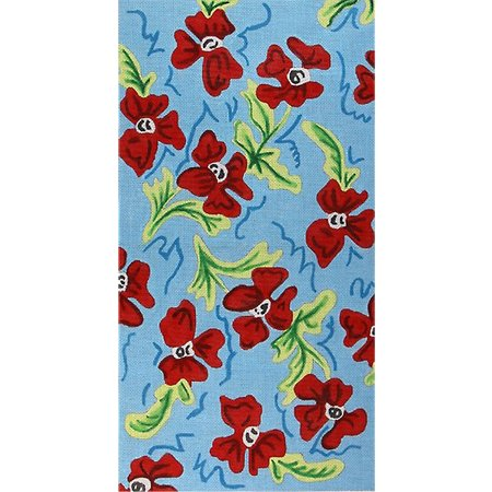 PINWHEEL POPPIES Purse