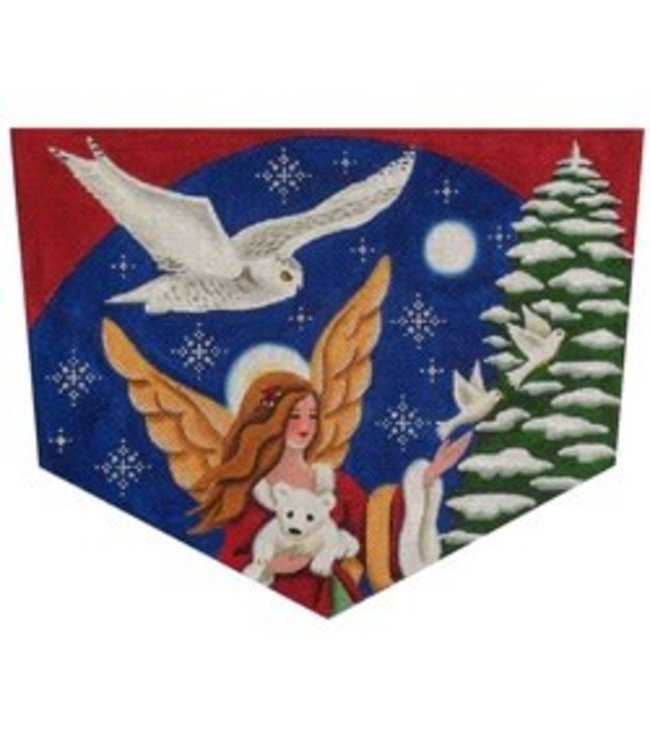 Arctic Angel - Stocking Topper