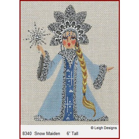 Snow Maiden w/ Stitch Guide