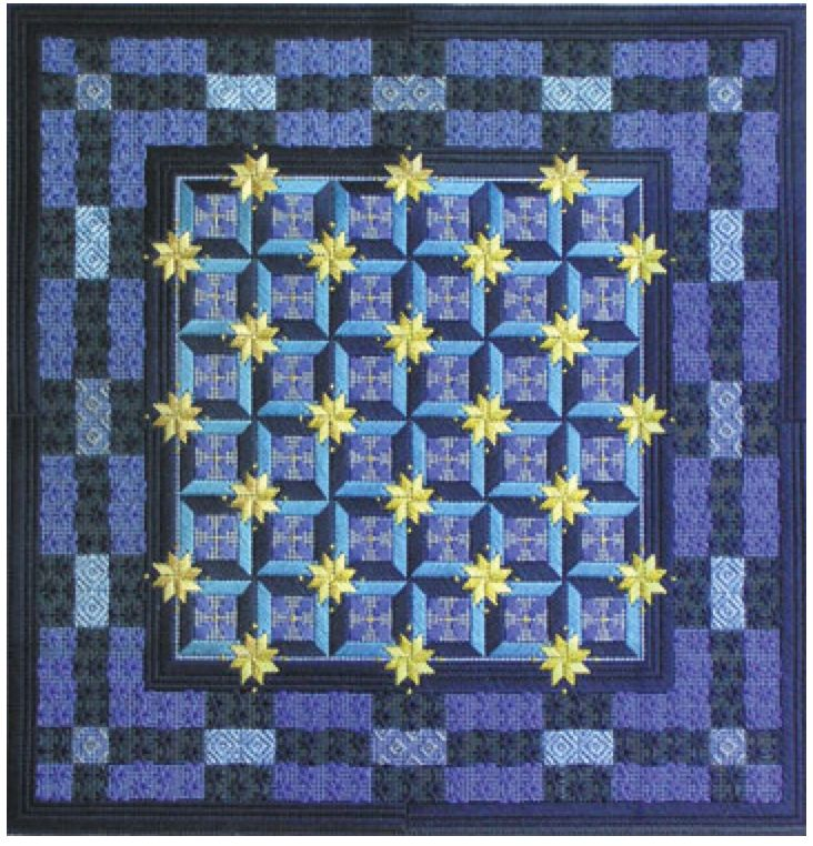 Starry Night - Counted Needlepoint