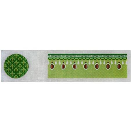 Green Fleurs & Gems Treasure Box