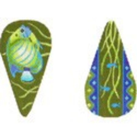 Tropical Fish Scissor Case 2x4.5 18M