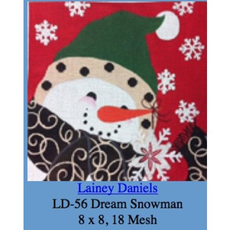 Wish Snowman Black Scarf 13Mesh