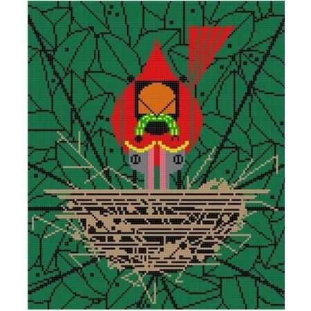Cardinal Cradle
