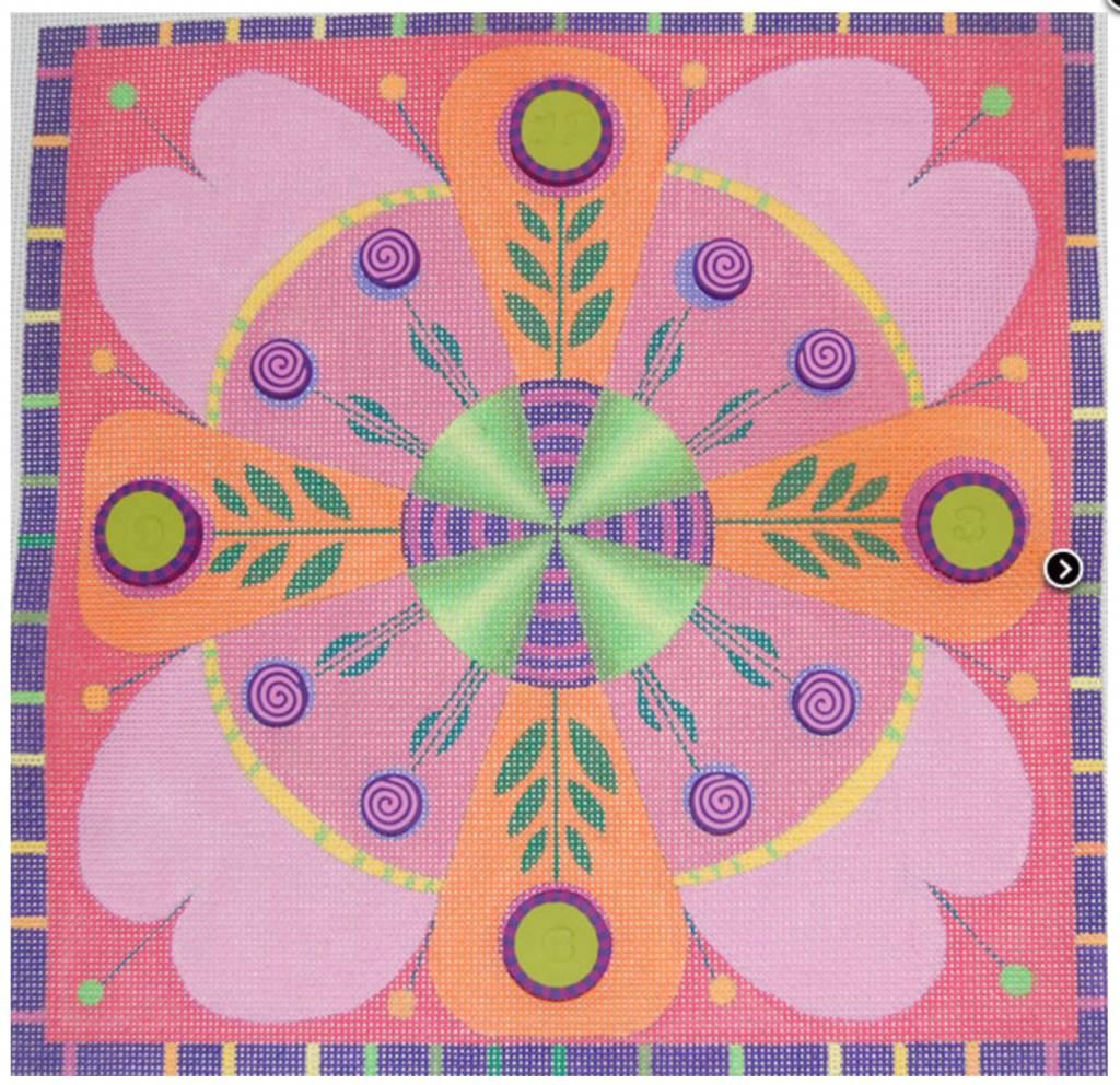 Flower Clock ZE206
