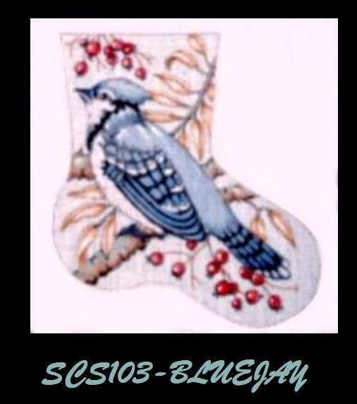 Blue Jay Stocking
