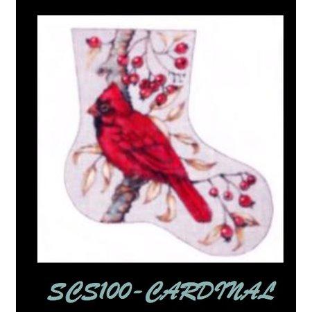 Cardinal Mini Sock