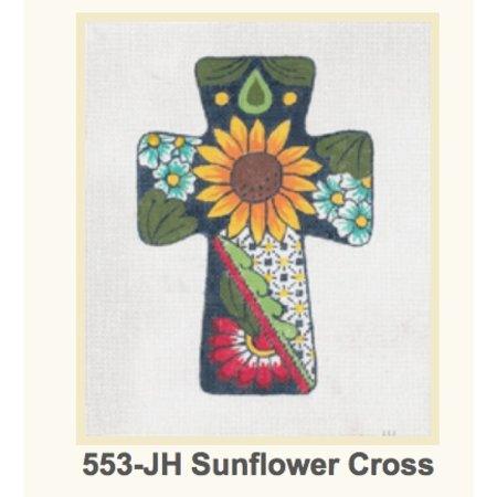 Cross Sunflower