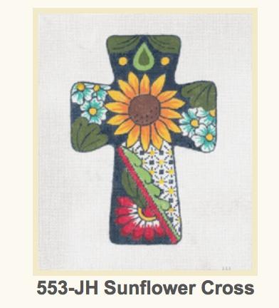 Cross Sunflower