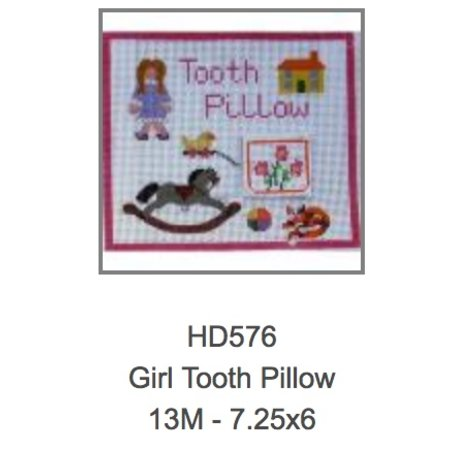 Girls Tooth Fairy Pillow