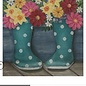 Rain Boots and Flowers