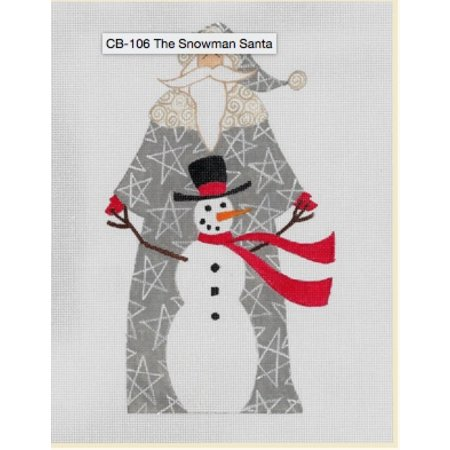 The Snowman Santa with Stitch Guide