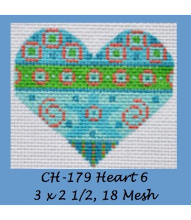 Heart 6  CH-179