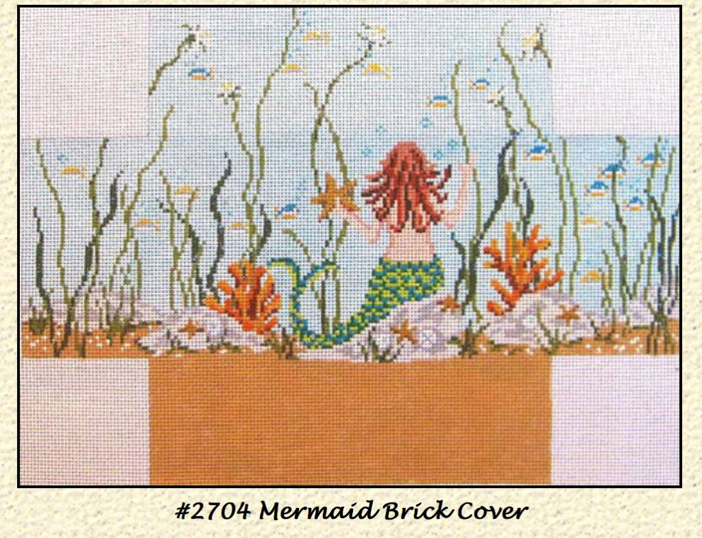 Mermaid Brick Cover