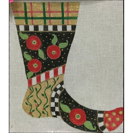 Mini Stocking with stitch guide #1