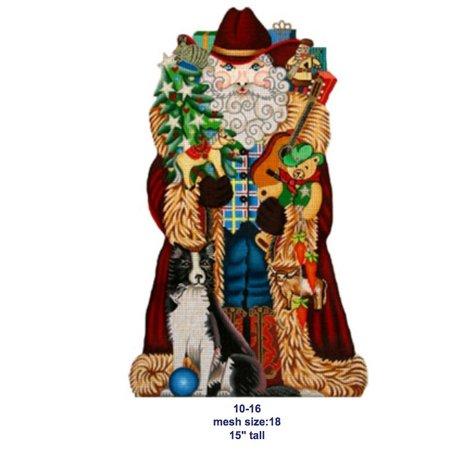 Stand Up Cowboy Santa