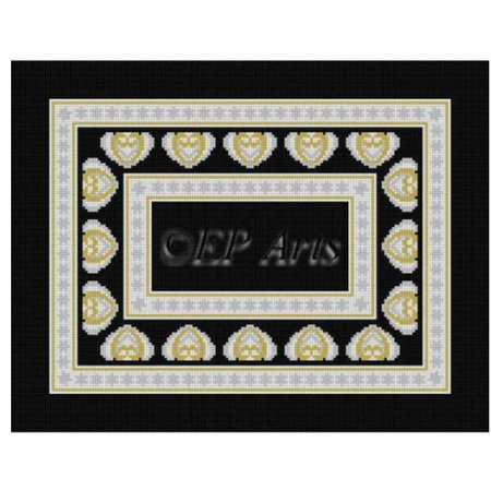 Canton Talli Bag Black/Gold/Silver
